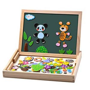 puzzles en bois magnetique