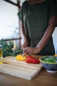couper des legumes