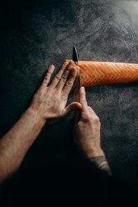 aiguisage couteau pour sushi