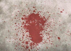 tache de sang