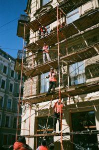 chantier ville