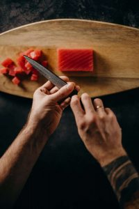coupe couteau pour poisson