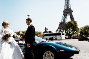 voiture mariage