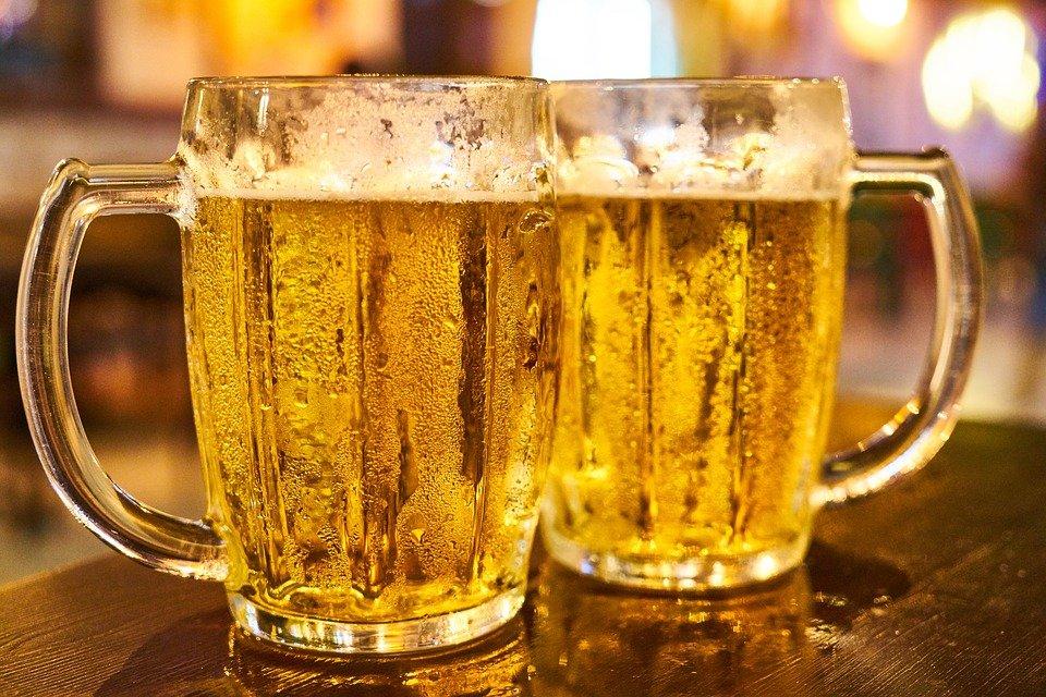 verres de bières